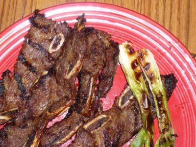 Korean Grilled Short Ribs (Kalbi) | DadCooksDinner.com