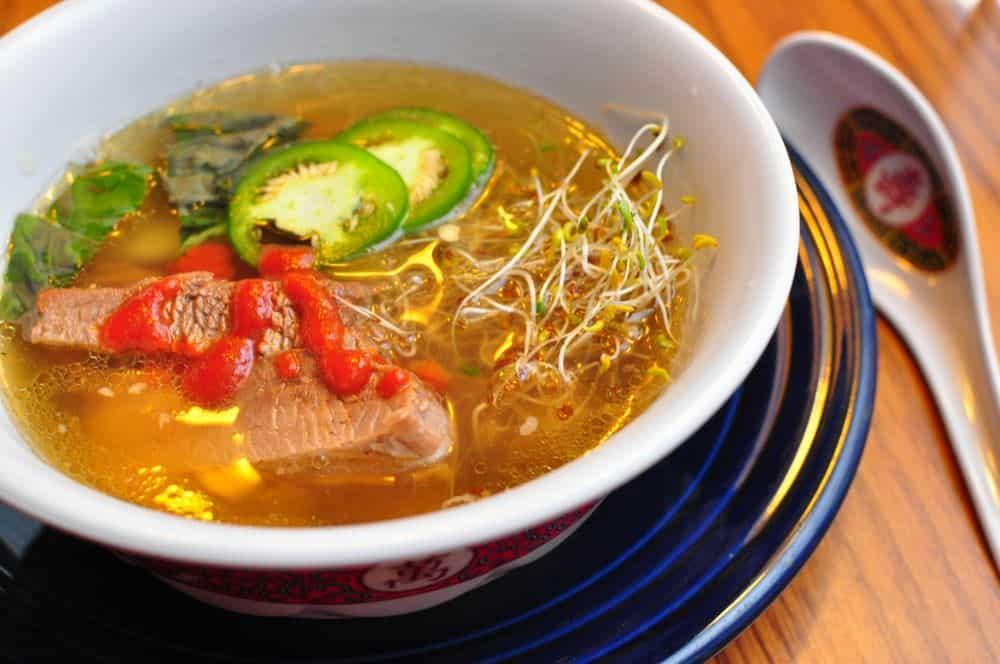 Pressure Cooker Pho Bo (Vietnamese Beef Noodle Soup)