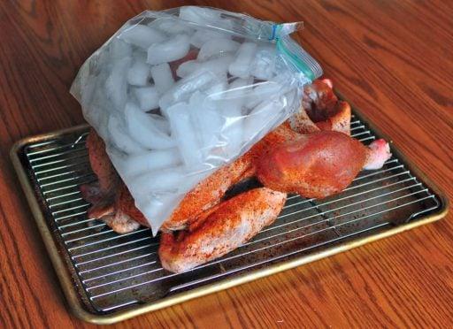 Rotisserie Turkey with Cajun Dry Brine   DadCooksDinner.com
