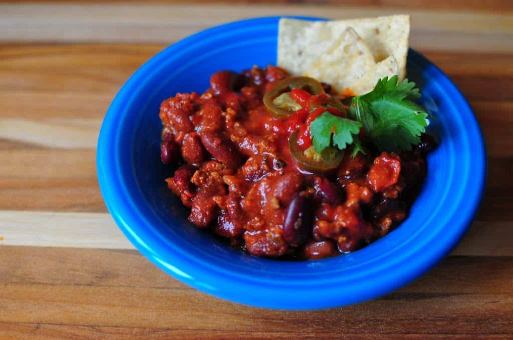 Slow Cooker Chili With Ground Beef And Beans Dadcooksdinner