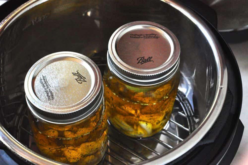 Pressure Cooker Garlic Confit Dadcooksdinner