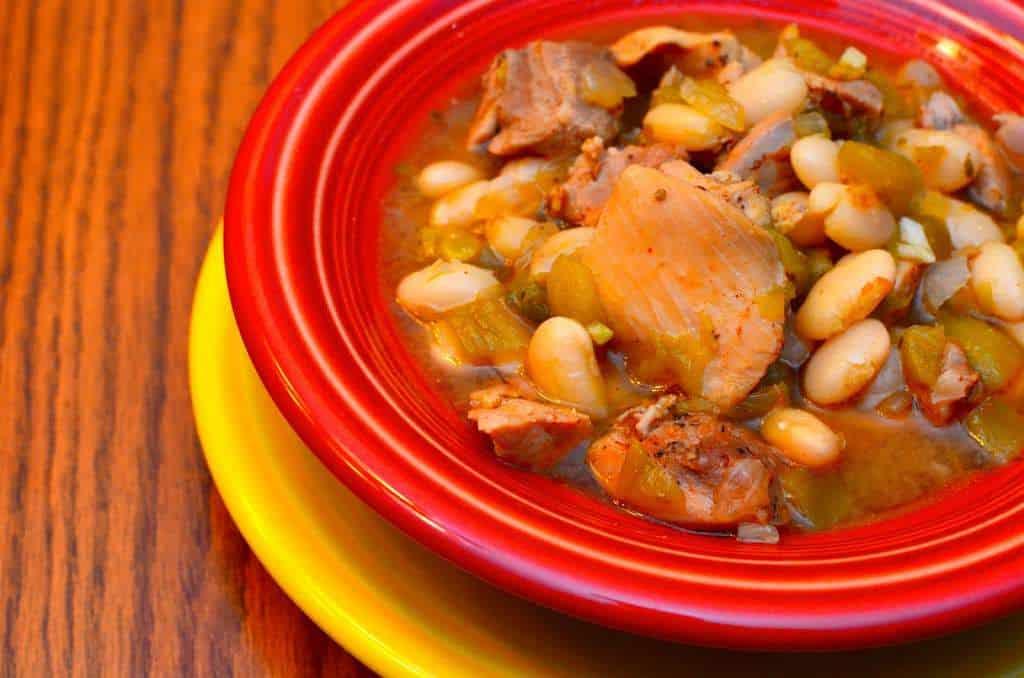 Pressure Cooker White Chili with Chicken