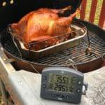 Grilled Dry Brined Turkey | DadCooksDinner.com
