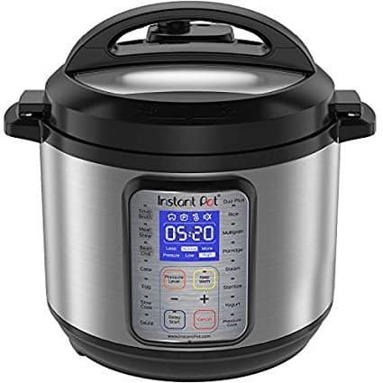 Instant Pot IP-DUO Plus 6 Quart (Image courtesy of Amazon.com) | DadCooksDinner.com