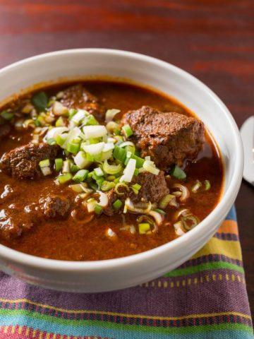 Pressure Cooker Texas Red Chili   DadCooksDinner.com