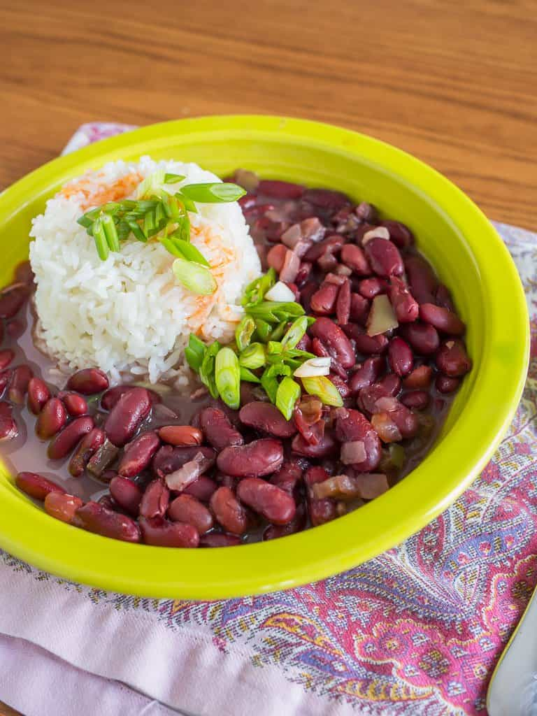 pressure cooker red beans and rice dadcooksdinner. Black Bedroom Furniture Sets. Home Design Ideas