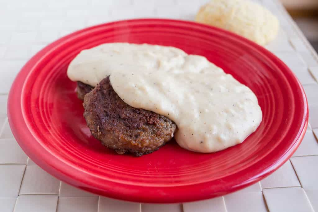 Sausage Gravy (In a Cast Iron Pan)