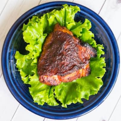 Grilled BBQ Chicken Thighs-1028