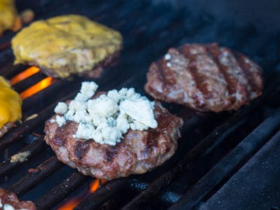 Duck Burgers with Blue Cheese-1030471