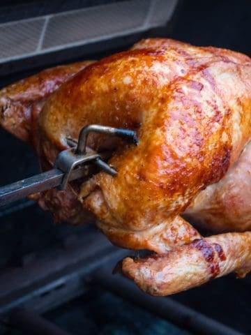 Rotisserie Turkey With Basic Dry Brine
