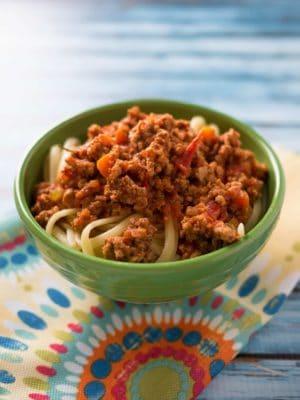 Pressure Cooker Italian Meat Sauce