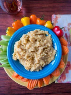 Pressure Cooker Yellow Pea Dip (Greek Fava)
