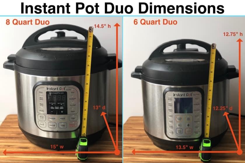 PicOfTheWeek: Measuring Instant Pots - DadCooksDinner