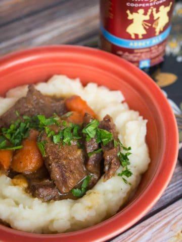 Pressure Cooker Beef Carbonnade (Belgian Beef Stew)