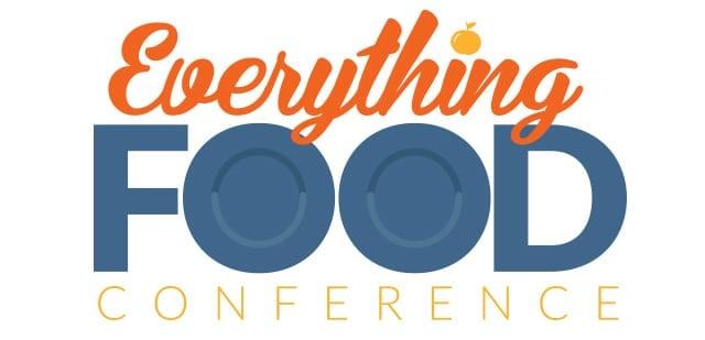 Everything Food Conference 2016 Logo | DadCooksDinner.com