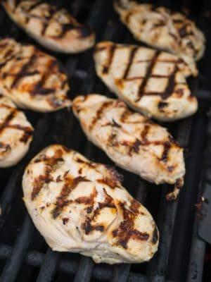 Grilled Chicken Breast with Citrus Marinade | DadCooksDinner.com