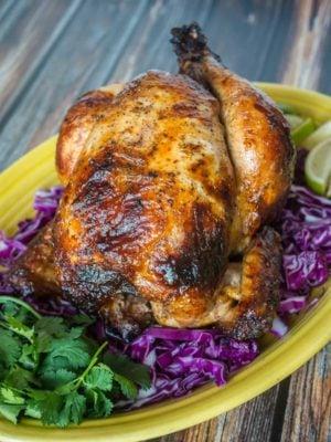 Rotisserie Chicken Pollo Asado | DadCooksDinner.com