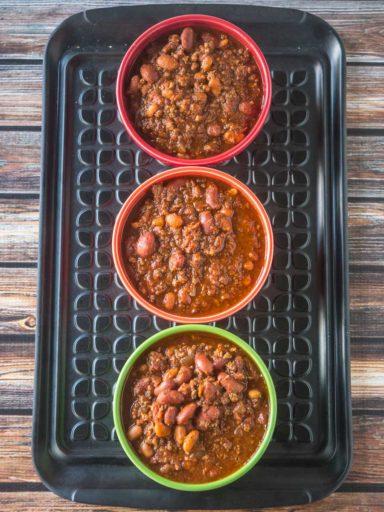 Chili Recipe Testing