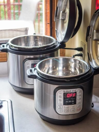 Recipe testing with a pair of pressure cookers | DadCooksDinner.com