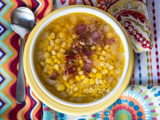 Pressure Cooker Corn Soup | DadCooksDinner.com