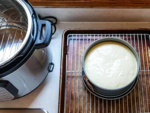 Recipe Testing - Pressure Cooker Cheesecake | DadCooksDinner.com