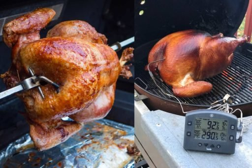 Rotisserie or Grilled Turkey? Why not both?