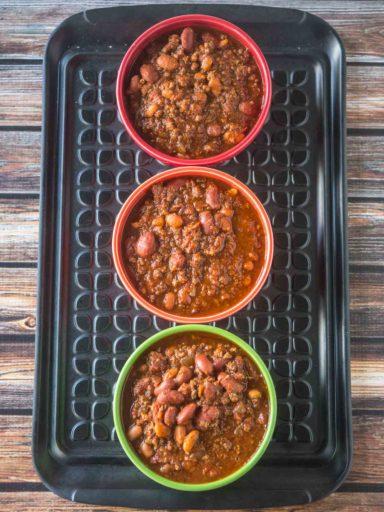 Big Batch of Quick Chili in the 8 Quart Pressure Cooker | DadCooksDinner.com