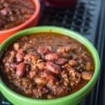 Pressure Cooker Big Batch of Quick Chili in an 8 Quart Pressure Cooker | DadCooksDinner.com