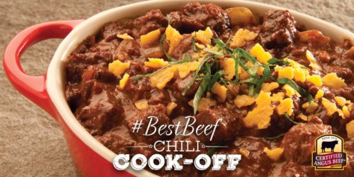 #BestBeef Virtual Chili Cook-Off at Certified Angus Beef | DadCooksDinner.com