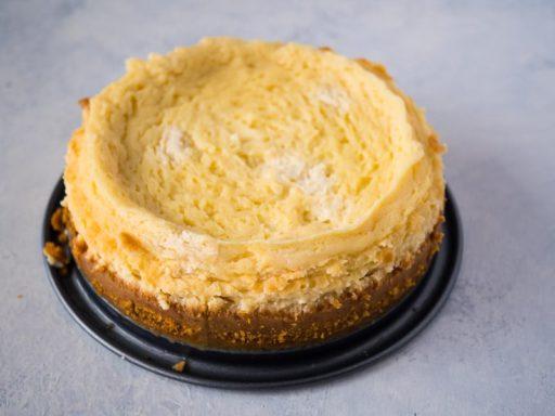 Cheesecake Disaster | DadCooksDinner.com