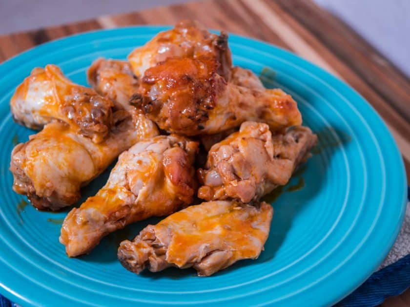 Pressure Cooker Buffalo Chicken Wings | DadCooksDinner.com
