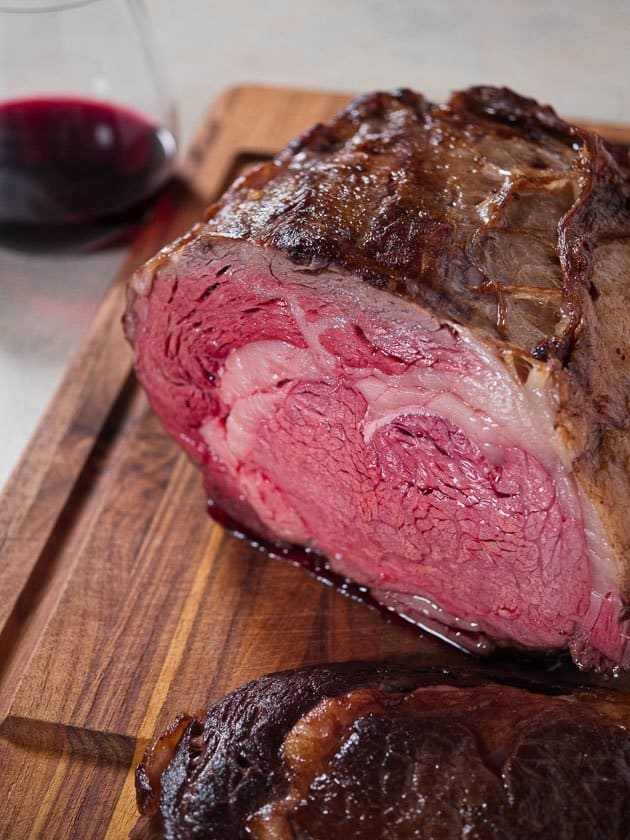 sous vide boneless ribeye roast dadcooksdinner. Black Bedroom Furniture Sets. Home Design Ideas