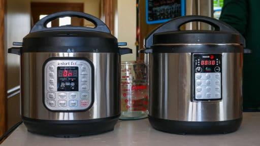 Timing the pressure cookers | DadCooksDinner.com