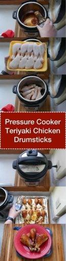 Pressure Cooker Teriyaki Chicken Drumsticks | DadCooksDinner.com