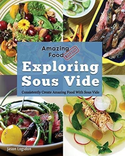 Exploring Sous Vide book cover | DadCooksDinner.com