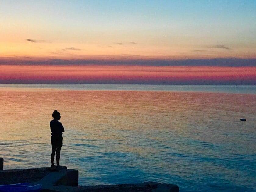 Sunset over Lake Erie   DadCooksDinner.com
