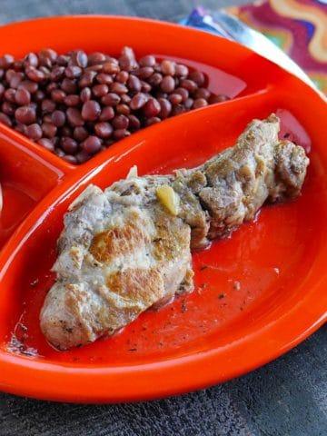 Pressure Cooker Pork Country Ribs with Cider and Mustard | DadCooksDinner.com