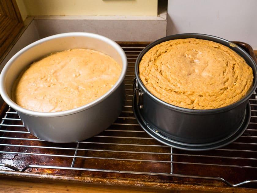 Testing Pumpkin Cheesecake | DadCooksDinner.com