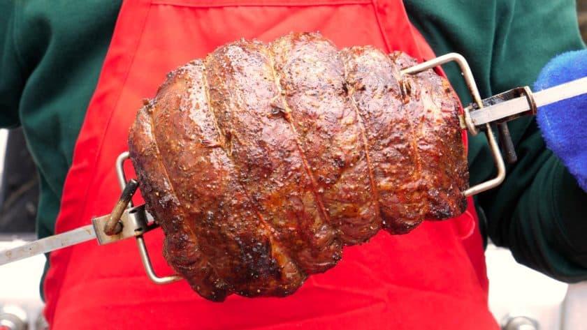 Rotisserie Sirloin Roast | DadCooksDinner.com