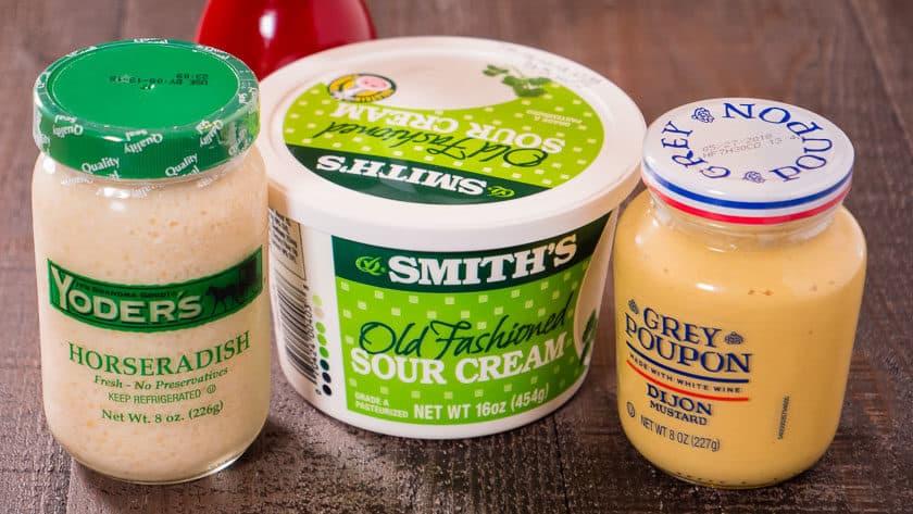 Quick Horseradish Sauce Ingredients | DadCooksDinner.com
