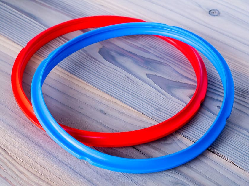 Instant Pot Silicone Sealing Rings in Red and Blue   DadCooksDinner.com