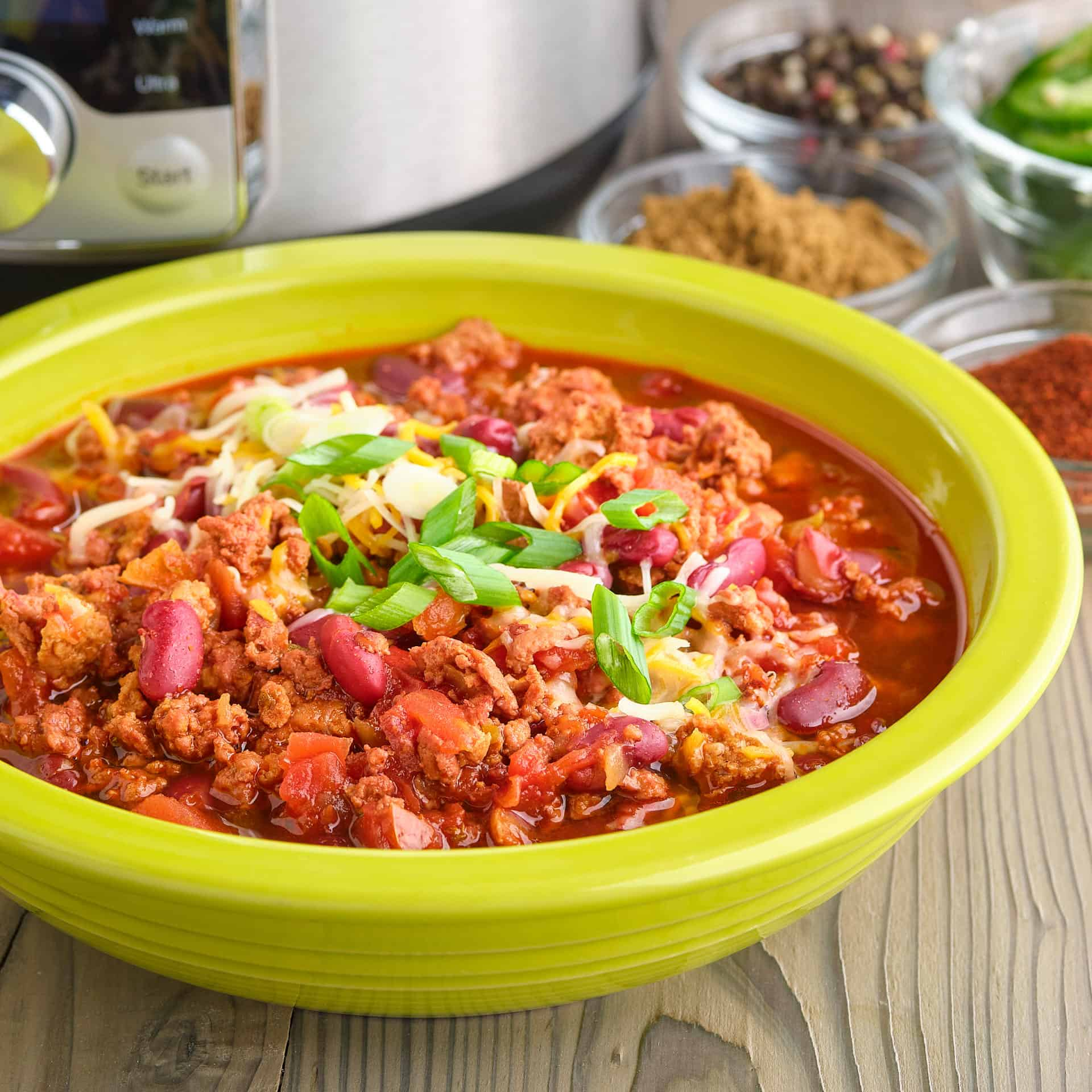 Instant Pot Ground Pork And Bean Chili Dadcooksdinner